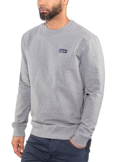 Patagonia P-6 Label Uprisal Crew Sweatshirt Men gravel heather